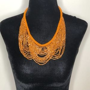 Catherine Stein Multi-Strand Seed Bead Necklace